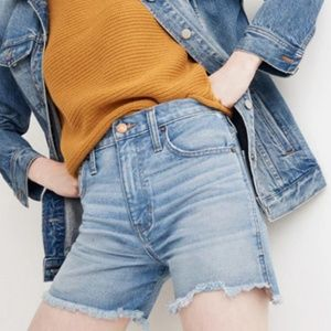 Madewell The Perfect Jean Short 28